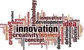 Innovation word cloud — Stock Vector