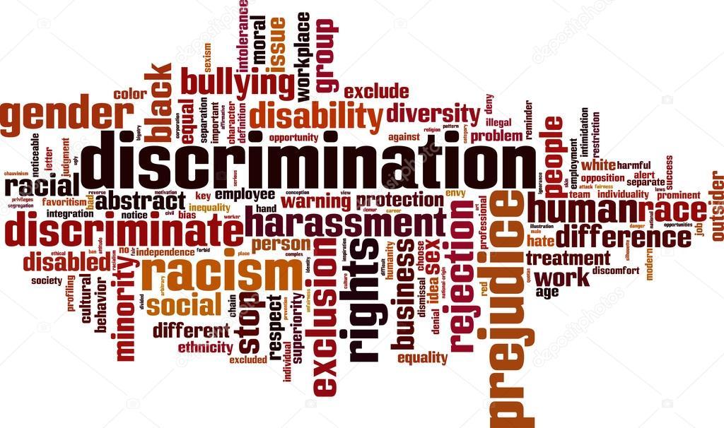 500 word essay on discrimination