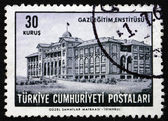 Postage stamp Turkey 1963 Gazi Institute of Education — Stock Photo