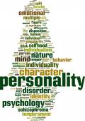 Personality word cloud — Wektor stockowy