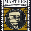 Postage stamp USA 1970 Edgar Lee Masters, American Poet — Stock Photo #64639659