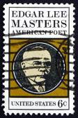 Postage stamp USA 1970 Edgar Lee Masters, American Poet — Stockfoto