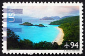 Postage stamp USA 2008 St. John, US Virgin Islands — Stockfoto