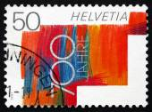 Postage stamp Switzerland 1991 Swiss Confederation, 700th Annive — Stock Photo