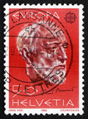Postage stamp Switzerland 1985 Ernest Ansermet, Swiss Composer — 图库照片