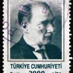 Postage stamp Turkey 1989 Mustafa Kemal Ataturk — Stock Photo #64972841