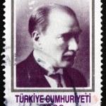Postage stamp Turkey 1990 Mustafa Kemal Ataturk — Stock Photo #64972923