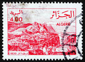 Postage stamp Algeria 1984 Constantine in 1830 — Stock Photo