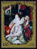 Postage stamp Chad 1972 Marriage of Marie de Medicis — Stock Photo