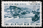 Postage stamp North Korea 1965 Kusimuldong, Revolutionary Battle — Stock Photo
