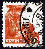 Postage stamp India 1981 Mother Feeding Child — Стоковое фото