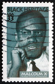 Postage stamp USA 1999 Malcolm X, Civil Rights Activist — Stock Photo