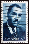 Postage stamp USA 2001 Roy Wilkins, Civil Rights Leader — Stock Photo