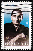 Postage stamp USA 2002 Irving Berlin, Composer — Stock Photo
