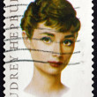 Postage stamp USA 2003 Audrey Hepburn, British Actress — Stock Photo #72404971