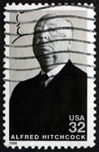Postage stamp USA 1998 Sir Alfred Hitchcock, Film Director — Stock Photo