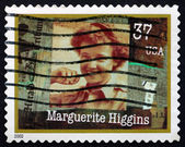 Postage stamp USA 2002 Marguerite Higgins, American Reporter — Stock Photo