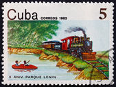 Postage stamp Cuba 1982 Lenin National Park — Stock Photo