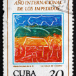 Postage stamp Cuba 1981 House in the Country — Stock Photo #72864923