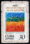 Postage stamp Cuba 1981 House in the Country — Photo