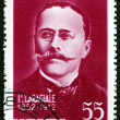Postage stamp Romania 1962 Ion Luca Caragiale, Romanian Playwrig — Stock Photo #73460913