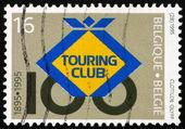 Postage stamp Belgium 1995 Belgian Touring Club — Stock Photo