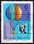 Postage stamp Argentina 1975 Eduardo Bradley — Stock Photo