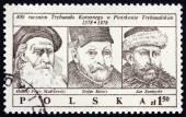 Postage stamp Poland 1979 Royal Tribunal — Stock Photo