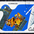 Postage stamp Cuba 1982 Mars, Peaceful Use of Outer Space — Stock Photo #74344821