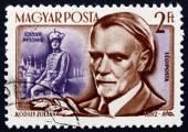 Postage stamp Hungary 1953 Zoltan Kodaly, Hungarian Composer — Stock Photo