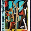 Postage stamp Togo 1988 The Dance, by Pablo Picasso — Stock Photo #79609638