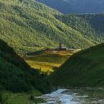 Ushguli village — Stock Photo #52444481