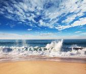 Serenity beach — Stock Photo