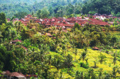 Indonesia landscapes — Stock Photo