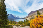 Autumn in Glacier — Stock Photo