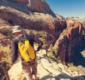 Hike in Zion — Stock Photo