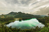 Lake in Dieng — Stock Photo