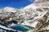 Glacier Park in winter — Stock Photo