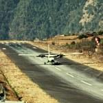 Airport in Lukla — Stock Photo #58262827