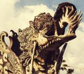 Decor on Bali — Stock Photo