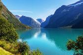 Lake in Norway — Стоковое фото