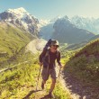 Hike in mountains — Stock Photo #60126731