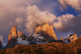 Mount Fitz Roy — Stock Photo