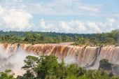 Iguassu Falls, South America — Stock Photo