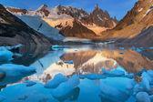 Cerro Torre in Argentina — Foto de Stock