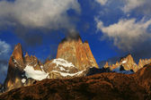 Cerro Fitz Roy in Argentina — Stock Photo