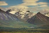 Alaska Dağları Panoraması — Stok fotoğraf