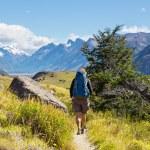 Man Hiker in Patagonia — Stock Photo #67235569