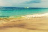 Tropical beach in Gili — Stock Photo