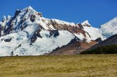 Patagonia landscapes in Argentina — Stock Photo